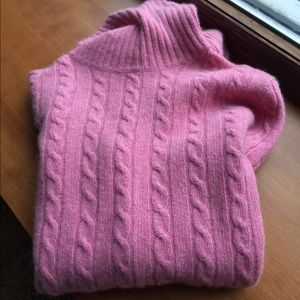 J.Crew Merino wool blend turtleneck sweater,size S